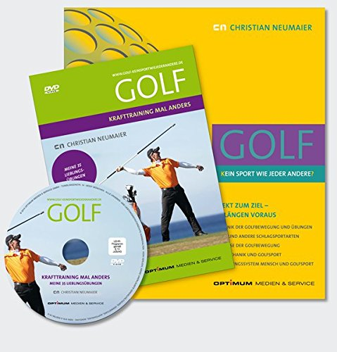 """Bundle III """"KRAFTTRAINING FÜR ERFOLGREICHES GOLF"""" Buch plus DVD mit Trainingskarte: GOLF – [K]EIN SPORT WIE JEDER ANDERE[?], DIREKT ZUM ZIEL – UM ... 35 LIEBLINGSÜBUNGEN (DVD mit Trainingskarte)"""
