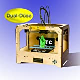 3D Drucker Neueste Dual Düse 3D-Desktop-Drucker Temperaturr...