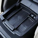 Popular Center Console Armrest Storage Box Organizer With Non-slip Mat For Honda CRV 2012 2013 2014 2015 Black