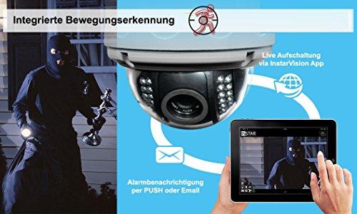 Instar steuerbare HD WLAN IP Kamera