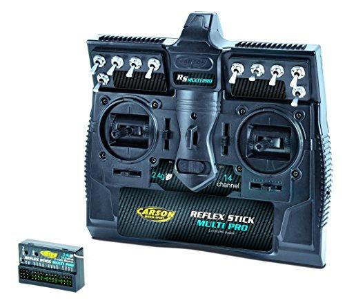 Carson 500501003 - Reflex Stick Multi Pro 2.4 GHz, 14 Kanal -