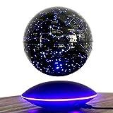 Romantik, Kreativ, Hightech, Sternbild Kugel Tischleuchte LED, LED Nacht mit Technologie von Suspension magnetisch, 88Konstellationen, Auto schwenkbar und Auto Schwimmerschalter für Studium, Como