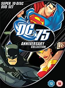 DC 75th Anniversary Collection Super 10-Disc DVD Set