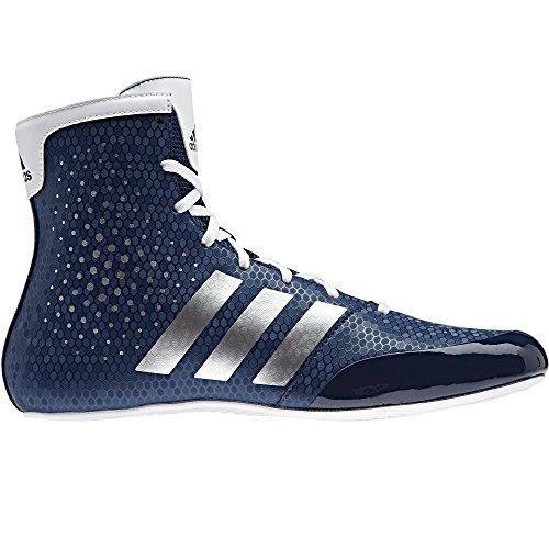 adidas Ko leyenda 16,2Hombres de zapatos Botas de boxeo, color azul