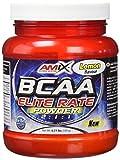 Aminoácidos Ramificados en polvo con ratio 2:1:1. BCAA Elite Rate Powder de Amix es un compuesto de aminácidos ramificados de una alta calidad en un formato en forma de polvos. Los BCAA (Branched Chain Amino Acid) son tres aminoácidos esencia...