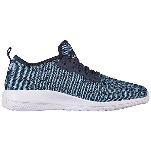 Kappa Damen Gizeh Sneaker Türkis (Mint/Navy)