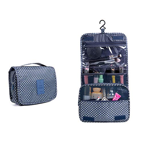 581501195746 Travel Cosmetic Storage MakeUp Bag Folding Hanging Toiletry Wash Organizer  Pouch