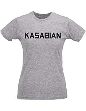 Camiseta Mujer Slim Kasabian - Maglietta 100% algodòn ring spun LaMAGLIERIA