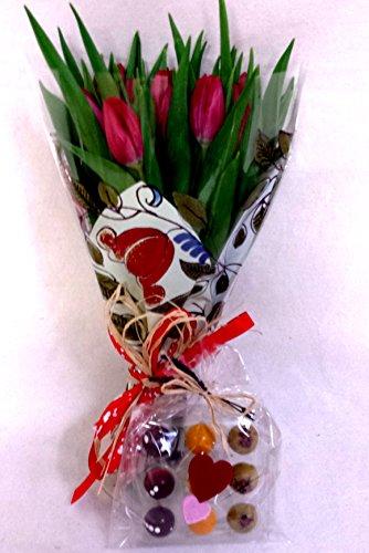 ramo-20-tulipanes-naturales-variados-para-regalar-portes-gratis