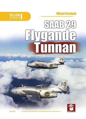 SAAB 29 Flygande Tunnan (Yellow) por Mikael Forslund