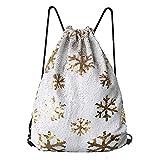 Alritz Mermaid Pailletten Kordelzug Tasche, wendbare Flip Pailletten Rucksäcke Magic Tote Glitzer Schultertasche für Mädchen Kinder Frauen