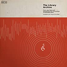 THE LIBRARY ARCHIVE - FUNK, JAZZ, BEATS AND SOUNDTRACKS FROM THE VAULTS OF CAVENDISH MUSIC [VINYL]