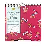 Familienplaner Kalender 2018 von Boxclever Press. Wochenkalender mit Spalten für bis zu 6 Personen, Einkaufs- und To-do-Listen und Erinnerungsaufklebern. Ab sofort nutzbar bis Ende Dezember 2018.