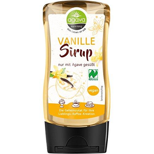 Agava Vanillesirup (350 g) - Bio