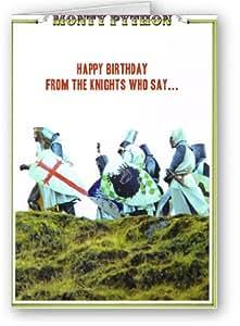 Monty Python Card Holy Grail Card Happy Birthday Knights