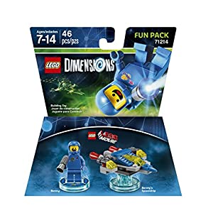 LEGO Movie Benny Fun Pack – LEGO Dimensions by Warner Home Video – Games