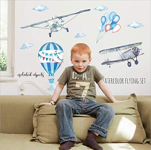 zbinbin Wand Stickersnew Animal Birthday Concert Kinderzimmer Veranda Krippe Kindergarten Hintergrund Dekorative 82X71Cm