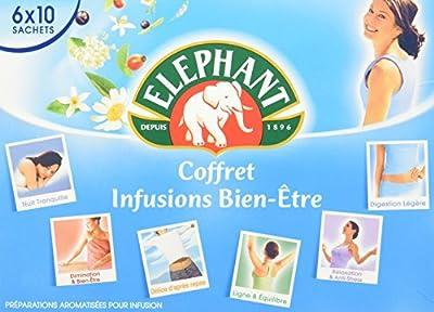Elephant Infusion Coffret Bien Etre 60 Sachets 99,5 g
