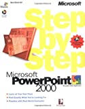PowerPoint 2000 Step by Step Book/CD Package