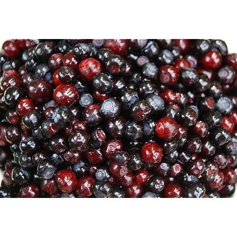100 GARDEN HUCKLEBERRY (Ground Cherry) Solanum Melanocerasum Berry Fruit Bush Seeds by (Berry Water Garden)