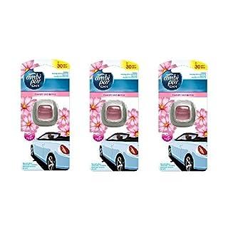 Ambi Pur Auto-Lufterfrischer Blumen & Spring (Pack von 3)