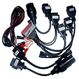 supervci 8 PCS KFZ Kabel OBD OBDII OBD II OBD2 OBD 2 Scanner Scan Diagnose Stecker für Delphi ds150e