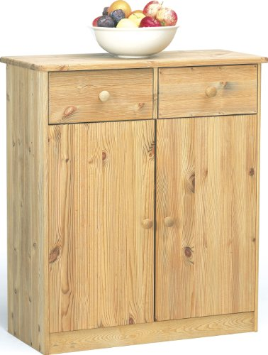 Steens Mario 1780270130 Cabinet 89 x 78 x 35 cm Solid Stripped Pine Oiled