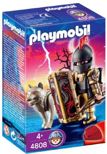 Playmobil - 4808 - Figurine - Chevalier des Loups avec Arc et Flèches