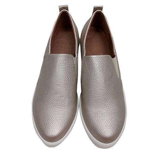 hengfeng-frauen-leder-flatform-loafer-freizeitschuhe-40-eu-grau
