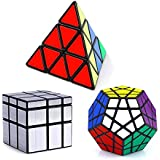 Vdealen Speed Cube- Pyramid, Megaminx, Mirror cube 3x3x3