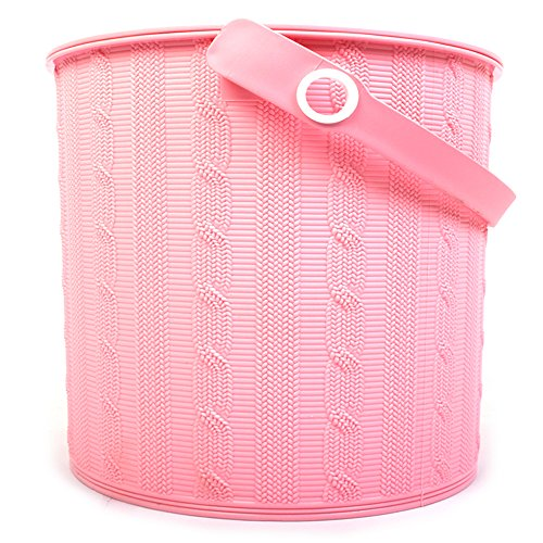 Virgin Storage Boxes 10Liter Large Storage Container Bucket With Lid and Handle Storage Organization(Color May Vary) by Oheligo
