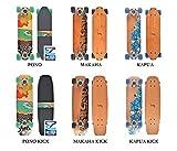 JUCKER HAWAII WOODY-BOARD mit und ohne Kicktail in 3 Designs