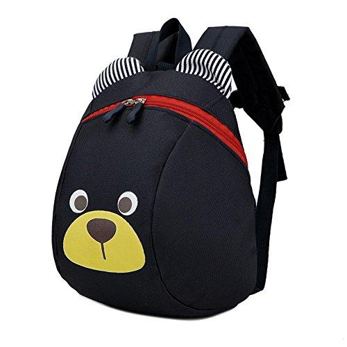 Kinder Rucksack Bunte Jungen & Mädchen Cartoon Niedlich Anti-verlorene Rucksack Schultasche Mit Zugseil