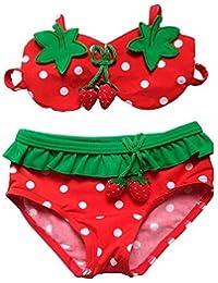 Kinder Bademode, Vandot Badeanzug Swimsuit Swimwear Lovely Süße Split Bikini Tankini Bandeau Neckholder Tops und Bottoms