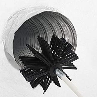 cokeymove secador de Escape Cepillo de Chimenea Cepillo secador Tubo Interior Limpieza de la Pared Cepillo Flexible removedor de Pelusa Alambre de Nylon Flexible