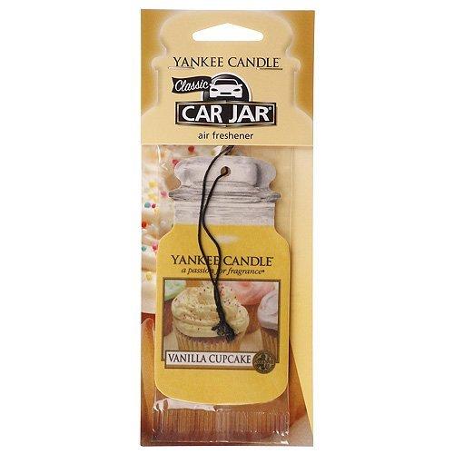 """Preisvergleich Produktbild Yankee candle 418690 Auto-Dufterfrischer, Duft """"Vanilla Cupcake"""", Pappe, beige, 81 x 19,7 x 1,2 cm"""