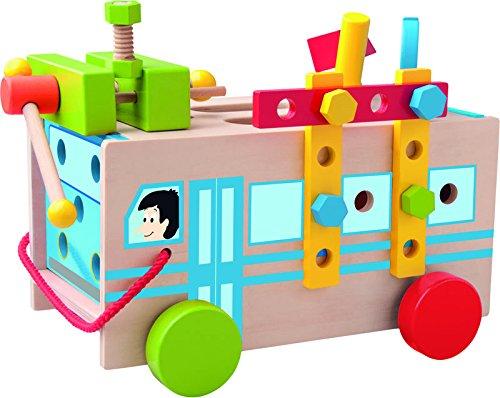 Woodyland 30 x 15 x 17 cm juguetes didácticos Montado autobús (27 piezas)
