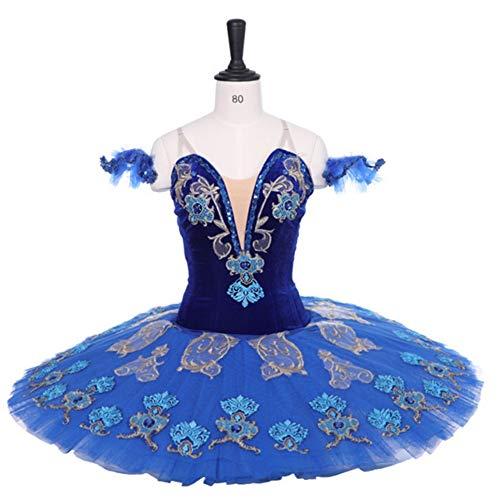 FENGHUAXUEYUE Erweiterte benutzerdefinierte Ballett Rock professionelle Pettiskirt Rock 7 Schicht hart net Erwachsene Kinder Tanz Performance Kleidung - Benutzerdefinierte Kinder Tanz Kostüm