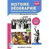 Histoire Géographie EMC CAP (2015) - Pochette élève