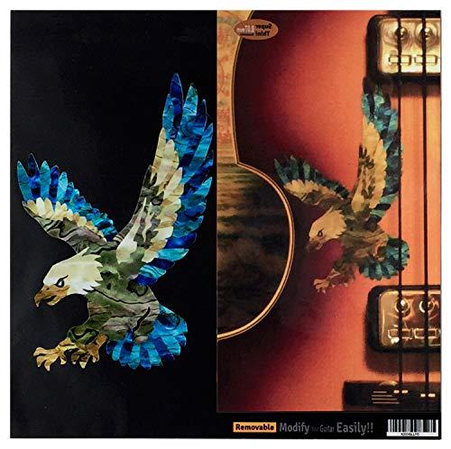 American Eagle In Abalone Aufkleber für Gitarre und Bass (Die Eagles Sind Zurück)