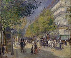 The Museum Outlet - Grande Boulevards by Renoir - Poster (24 x 18 Inch)