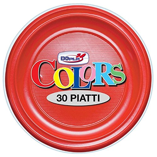 Pz30 Assiettes Creuse Rouge