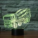 3D Veilleuse 3D Led Illusion Blender Modèle De Voiture Night Light Led 7 Couleurs...