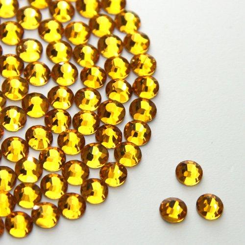 Me Golden Hotfix Strasssteine, Flache Rückseite, Zum Aufbügeln, Strasssteine, Diamantenedelsteine, Größe 3 mm