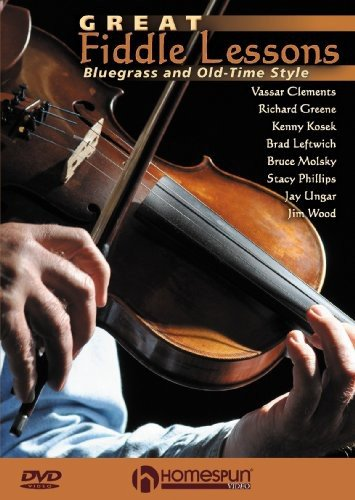 Great Fiddle Lessons - Bluegrass and Old-Times Style