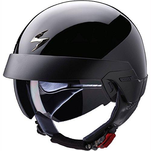 Scorpion Exo de 100Solid Jet Casco–Negro