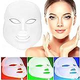 Facial Gesichtsmaske 3,LED Gesichtsmaske, LED Maske Gesichts Licht Hautverjüngung Gesichtspflege Behandlung Schönheit,Anti-Aging, Falten, Kollagen, Narbenb, Gesichtshaut Verjüngung Therapie