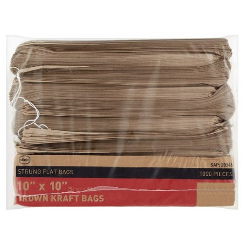 infiniti-sacs-en-papier-kraft-brun-sont-sacs-plats-254-x-254-cm-lot-de-1