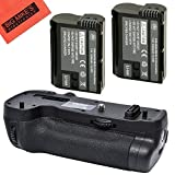 BM PremiumBattery Grip Kit for Nikon D500 Digital SLR Camera (Replacement For MB D17) Includes Qty 2 EN EL15 Batteries + Vertical Battery Grip