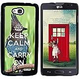 Print Motif Coque de protection Case Cover // Q01014393 keep calm and carry on 682 // LG Optimus L90 D415